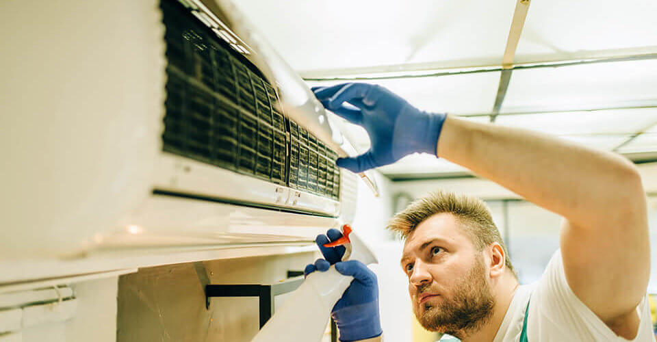 Cleaning Black Mold from Air Conditioning Units KCR, Inc.