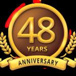 48 year Anniversary Badge